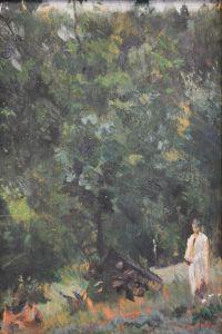 Artist: Ioganson, Boris Vladimirovich : В лесу