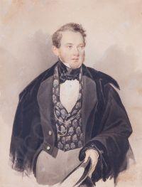 Artist: Sokolov, Petr Fedorovich : Портрет графа Александра Михайловича Борха