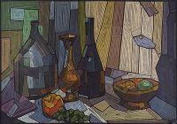 Artist: Zabironin, Andrey Nikolaevich : Натюрморт. Встреча