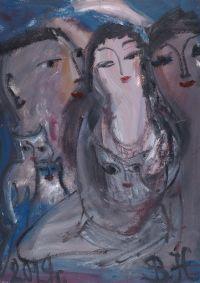 Artist: Vasilchikova, Nadezhda Anatolievna : Семья
