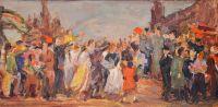 Artist: Arakelov, Vartan Nersesovich : Праздник на Красной площади
