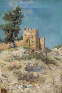 Artist: Apsit, Alexandr Petrovich : Крепость