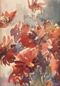 Artist: Feshin, Nikolay Ivanovich : Blumenstillleben