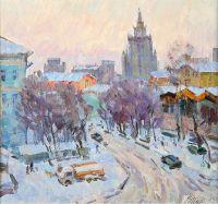 Artist: Inchin, Vasily Ivanovich : Москва. Крымский проезд