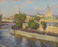 Artist: Inchin, Vasily Ivanovich : Москва. Софийская набережная