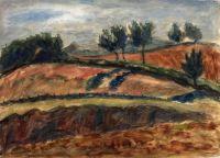 Artist: Axelrod, Meir Moiseevich : Landscape