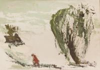 Artist: Slepyshev, Anatoly Stepanovich : По снегу домой