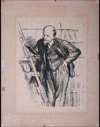 Artist: Zhukov, Nikolay Nikolaevich : В библиотеке