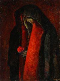 Artist: Schipachev, Livy Stepanovich : Святая и грешная (Магдалина)