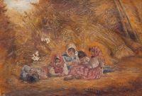 Artist: Rachkov, Nikolay Efimovich : Деревенские дети