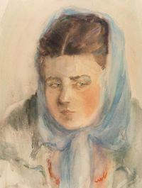 Artist: Troshin N.S. | Deineko O.K. : Portrait of a Woman