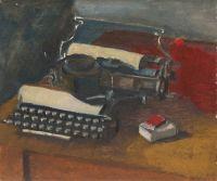 Artist: Bezzubov, Yury Ivanovich : Печатная машинка