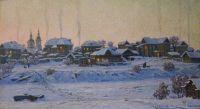 Artist: Iglovikov, Vladimir Georgievich : Вечерний Тобольск
