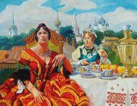 Artist: Drozdov, Iliya : Женитьба Бальзаминова