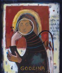Художник: Позитивная, Зинаида : Я может быть и была бы ангелом, если б не была человека