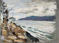 Artist: Alexeev, Adolf Evgenievich : Ангара