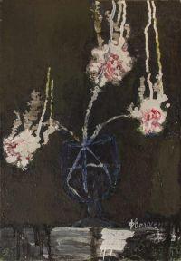 Artist: Volosenkov, Feliks Vasilievich : Явление Бога Волоса в виде белых гвоздик