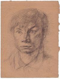 Artist: Tikhomirov, Viktor Ivanovich : Портрет Александра Баширова