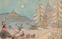 Artist: Shervud, Vladimir Vladimirovich : Эскиз иллюстрации