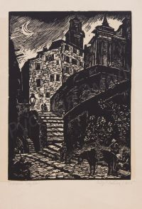 Artist: Kaplun, Adrian Vladimirovich : Италия. Горбио