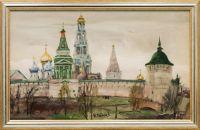 Artist: Belyaev, Nikolay Yakovlevich : Пейзаж. Лавра