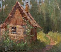 Artist: Krasnushkina, Elizaveta Zakharievna : Домик