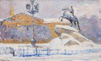 Artist: Kafengauz, Yury Berngardovich : Медный всадник