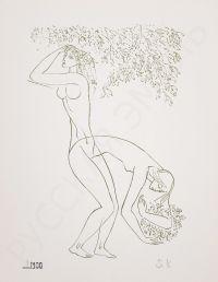 Художник: Красаускас, Стасис Альгирдович : Лист из серии «Рождение женщины»