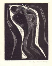 Художник: Красаускас, Стасис Альгирдович : Две линогравюры из серии «Сонеты У. Шекспира»
