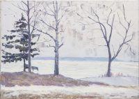Artist: Vyalov, Konstantin Alexandrovich : Зимняя река