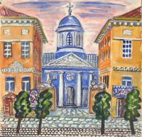 Artist: Shagin, Dmitry Vladimirovich : Армянская церковь