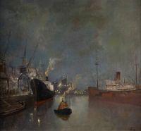 Artist: Shovkunenko, Aleksey Alekseevich : Im Hafen von Odessa