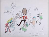 Artist: Galba, Vladimir Alexandrovich : Королевская гвардия попала в окружение