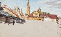 Artist: Laktionov, Alexandr Ivanovich : Провинциальный город