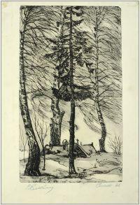 Artist: Elkin, Vasily Nikolaevich : Сенеж