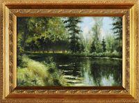 Artist: Tarasov, Ivan Grigorievich : Пруд в Павловске