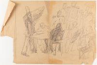 Artist: Korolev, Boris Danilovich : In the Auditorium