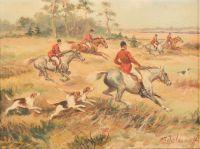 Художник: Шелоумов, Афанасий Иванович : Red riders