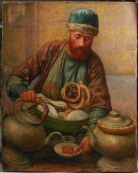 Художник: Паевски, Ян : В чайной