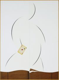 Artist: Nemukhin, Vladimir Nikolaevich : Фигура (Ломберный стол)