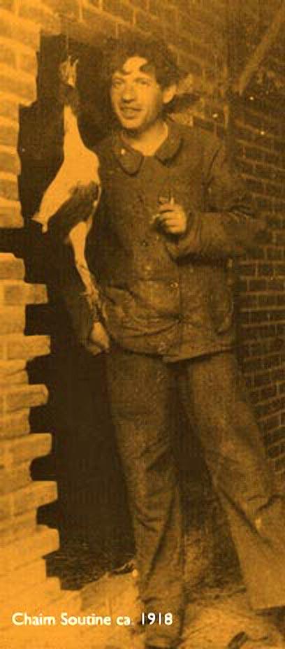 Сутин, 1918