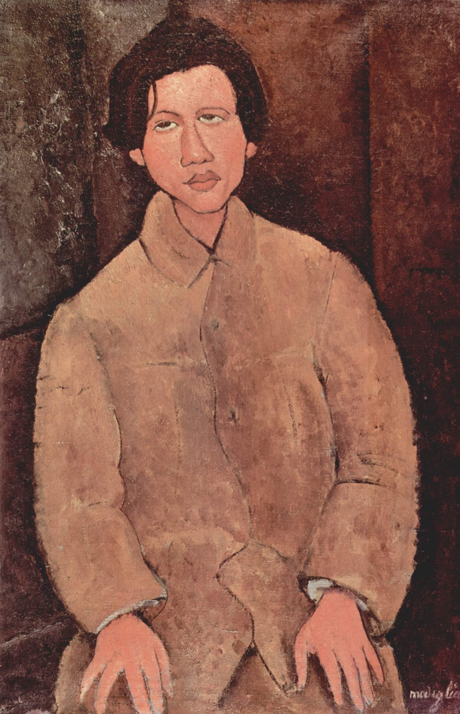 Модильяни. Портрет Сутина
