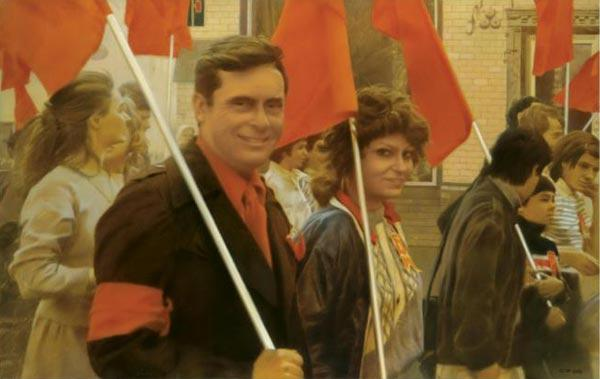 СЕМЕН ФАЙБИСОВИЧ. Красота. 1988. Холст, масло