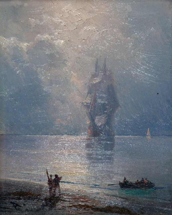Айвазовский И. К. Рассвет на море