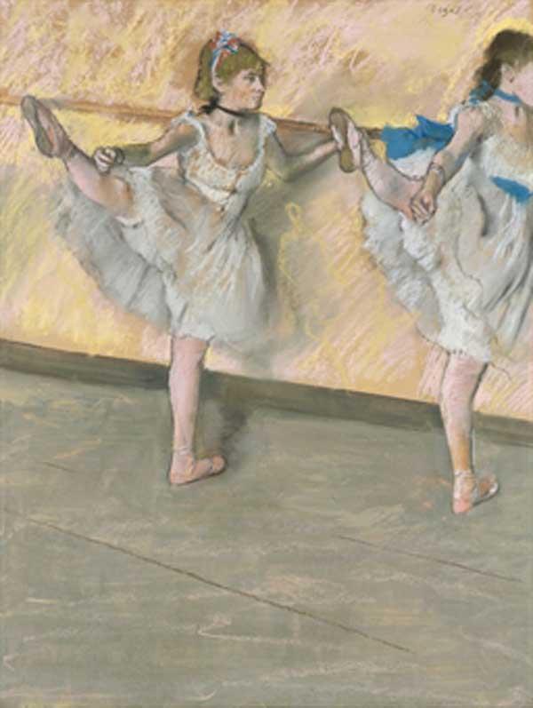 ЭДГАР ДЕГА Танцовщицы у балетного станка