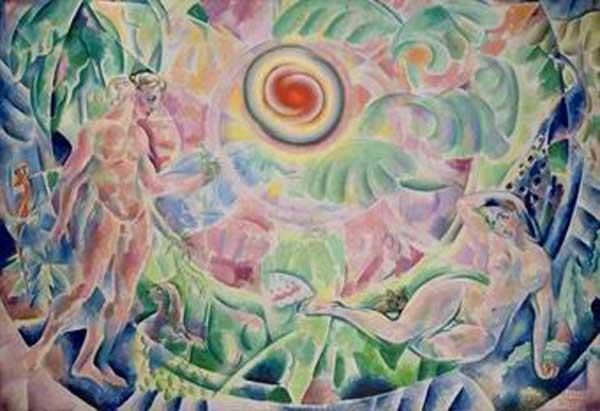 ВЛАДИМИР БАРАНОВ-РОССИНЕ Ритм (Адам и Ева)