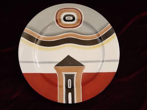 ВЛАДИМИР ЯНКИЛЕВСКИЙ Серия из четырех декоративных тарелок. 25-й экземпляр из 50 выпущенных