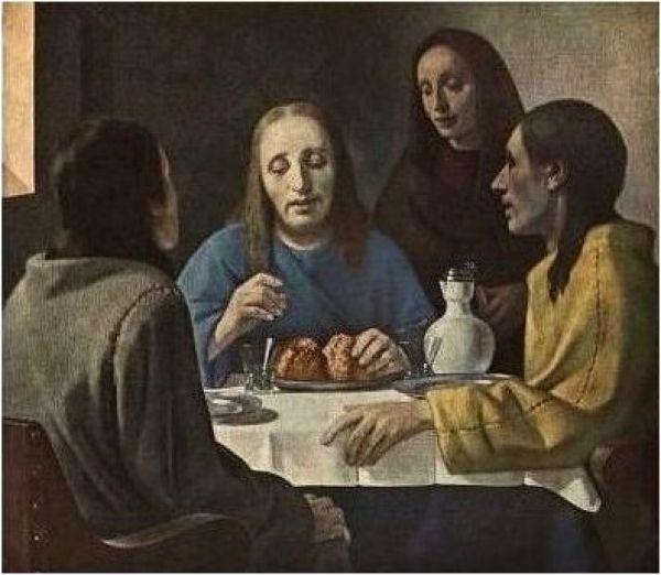 ХАН ВАН МЕЕГЕРЕН Христос в Эммаусе