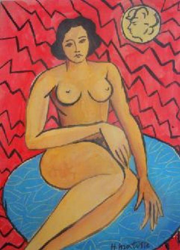 Поддельная работа Матисса с аукциона eBay