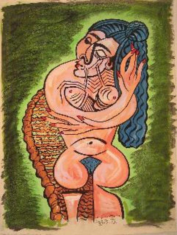 ДЖОН МАЙАТТ Поддельная «картина Пабло Пикассо»